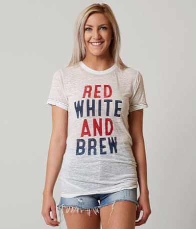 Chillionaire Red White & Brew T-Shirt