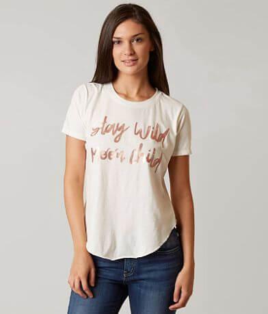 Chillionaire Stay Wild Moon Child Eclipse T-Shirt