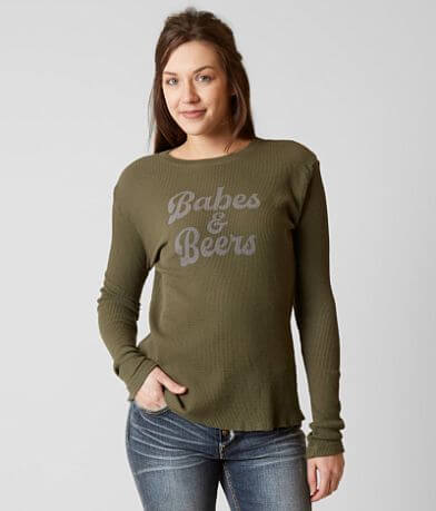 Chillionaire Babes & Beers Thermal T-Shirt