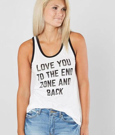 Chillionaire Love You To The End Zone Tank Top