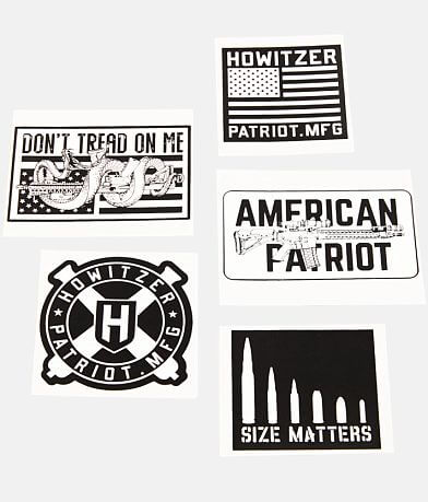 Howitzer 5 Pack Stickers