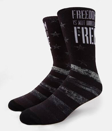 Howitzer Freedom Is Not Free Socks