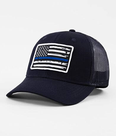 Howitzer Support Blue Trucker Hat