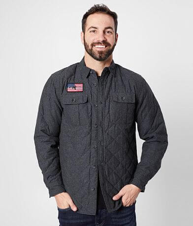 Howitzer Surrender Quilted Shirt Jacket