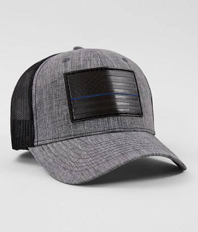 Howitzer Blue Stripe Trucker Hat
