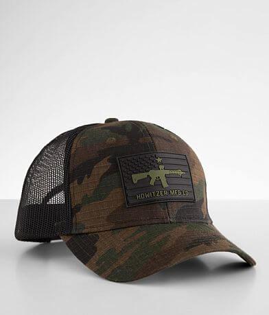 Howitzer Patriot Flag Camo Trucker Hat