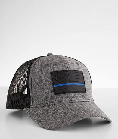 Howitzer Protect Blue Trucker Hat