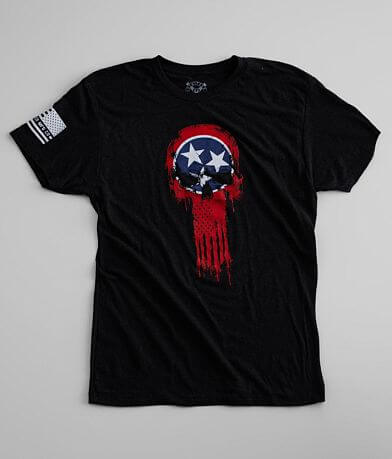 Howitzer Tennessee Skull T-Shirt