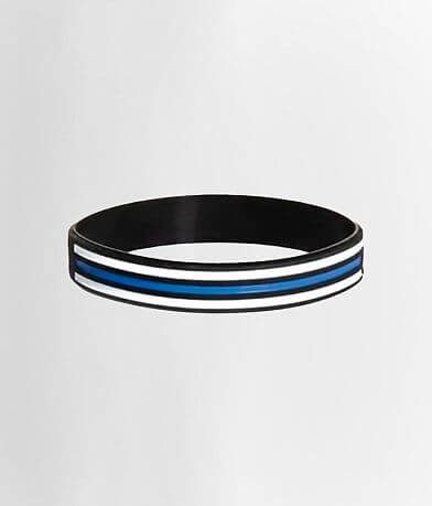 Howitzer Support Police Silicone Bracelet
