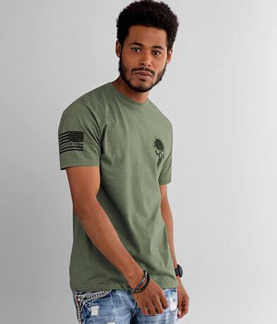 Howitzer Flag Skull T-Shirt