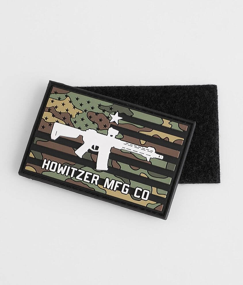 Howitzer Camo Flag Moral Patch front view
