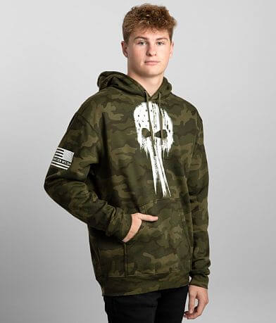 Howitzer Freedom Applied Camo Hooded Sweatshirt