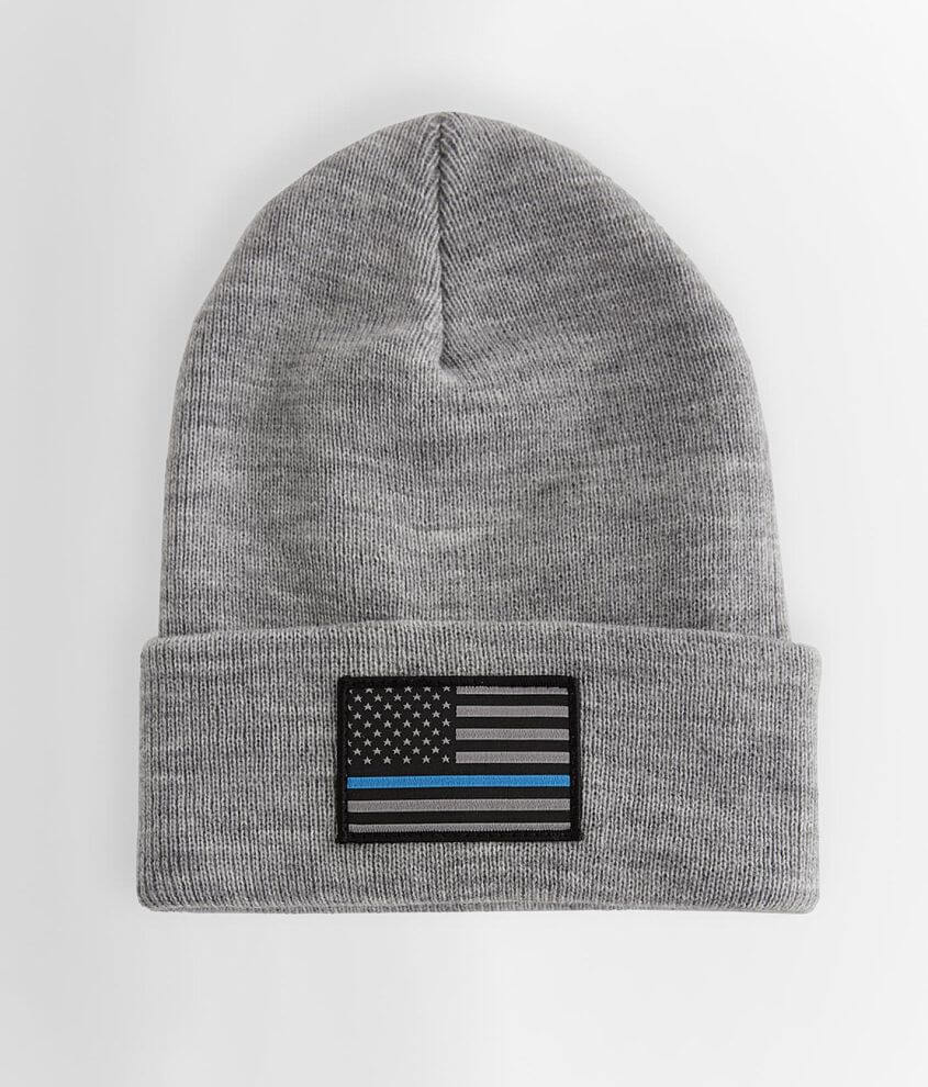 Howitzer Protect Blue Beanie front view