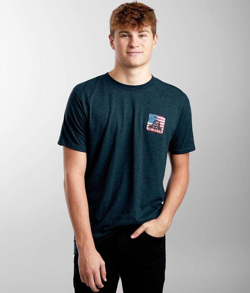 Howitzer Coiled Freedom T-Shirt front view