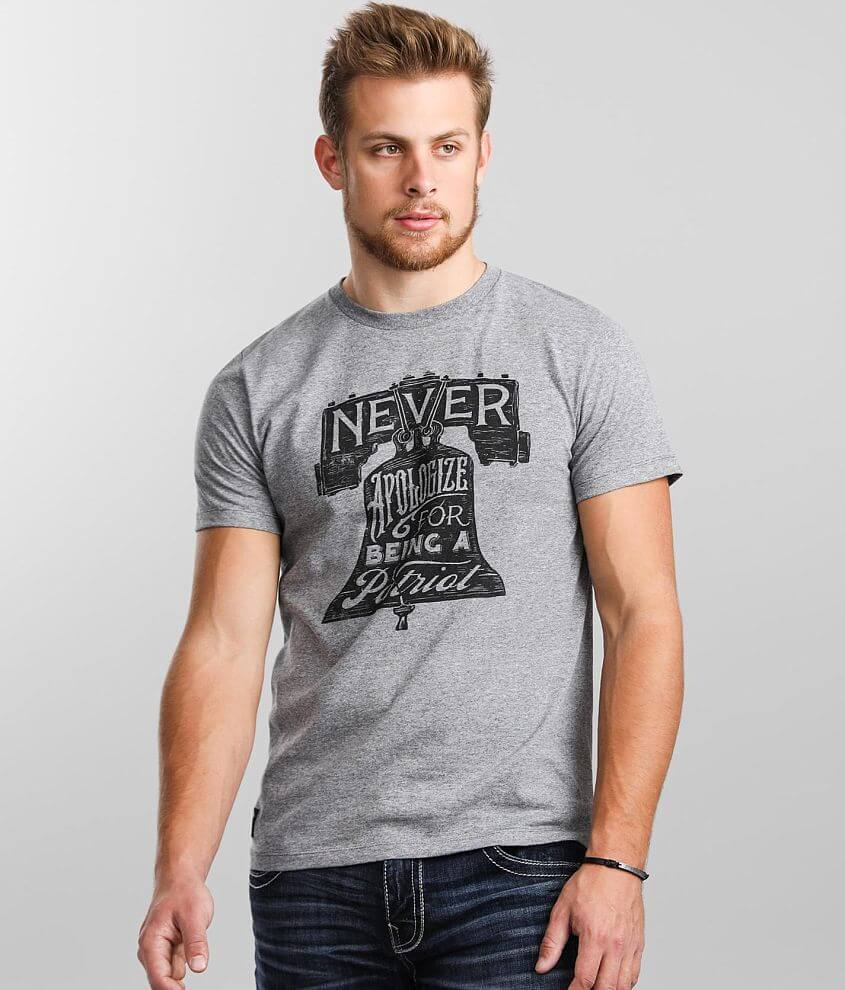 Howitzer Never Apologize T-Shirt front view