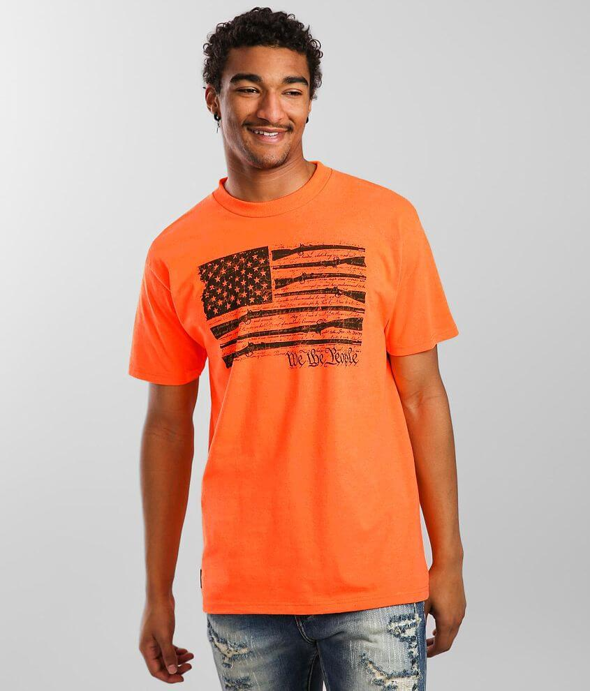 Howitzer We The People Flag T-Shirt front view