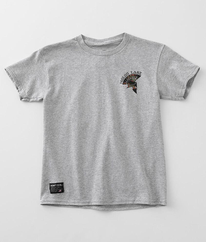Boys - Howitzer Molon Label T-Shirt front view