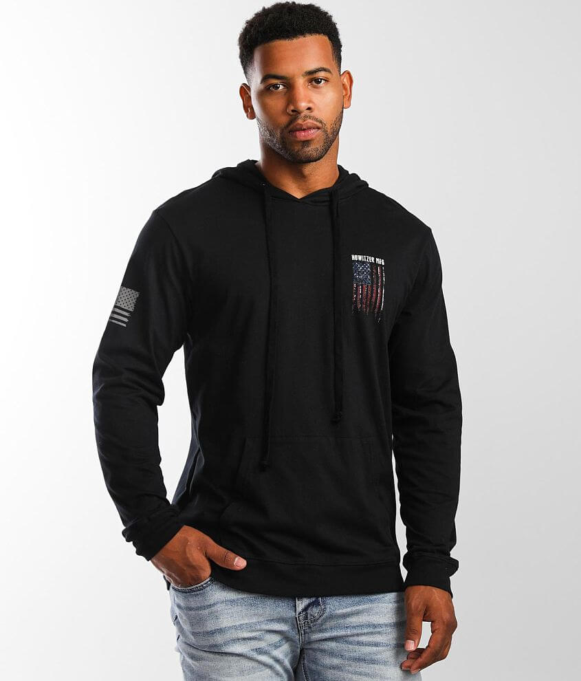 Howitzer Tread Bold Hoodie front view
