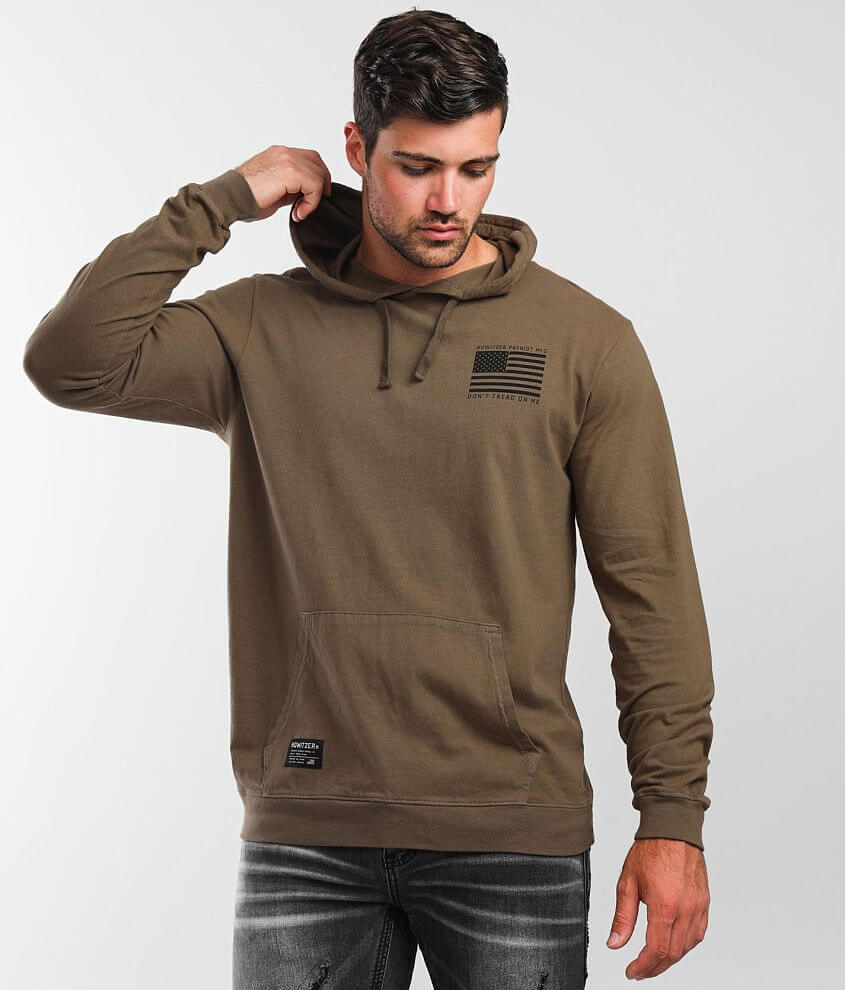 Howitzer Coiled Snake Hoodie front view