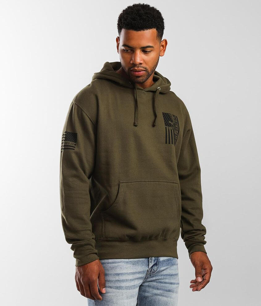 Howitzer Proud Arms Hooded Sweatshirt front view