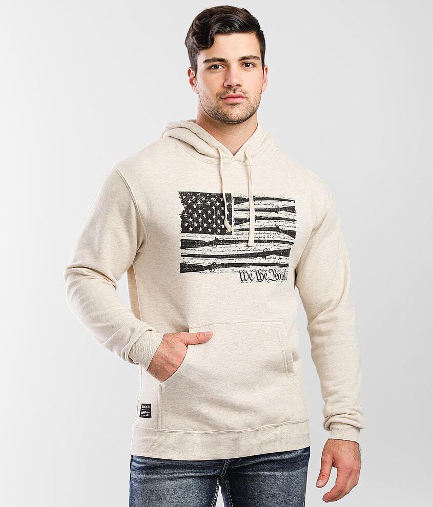 Howitzer People Flag Hooded Sweatshirt front view