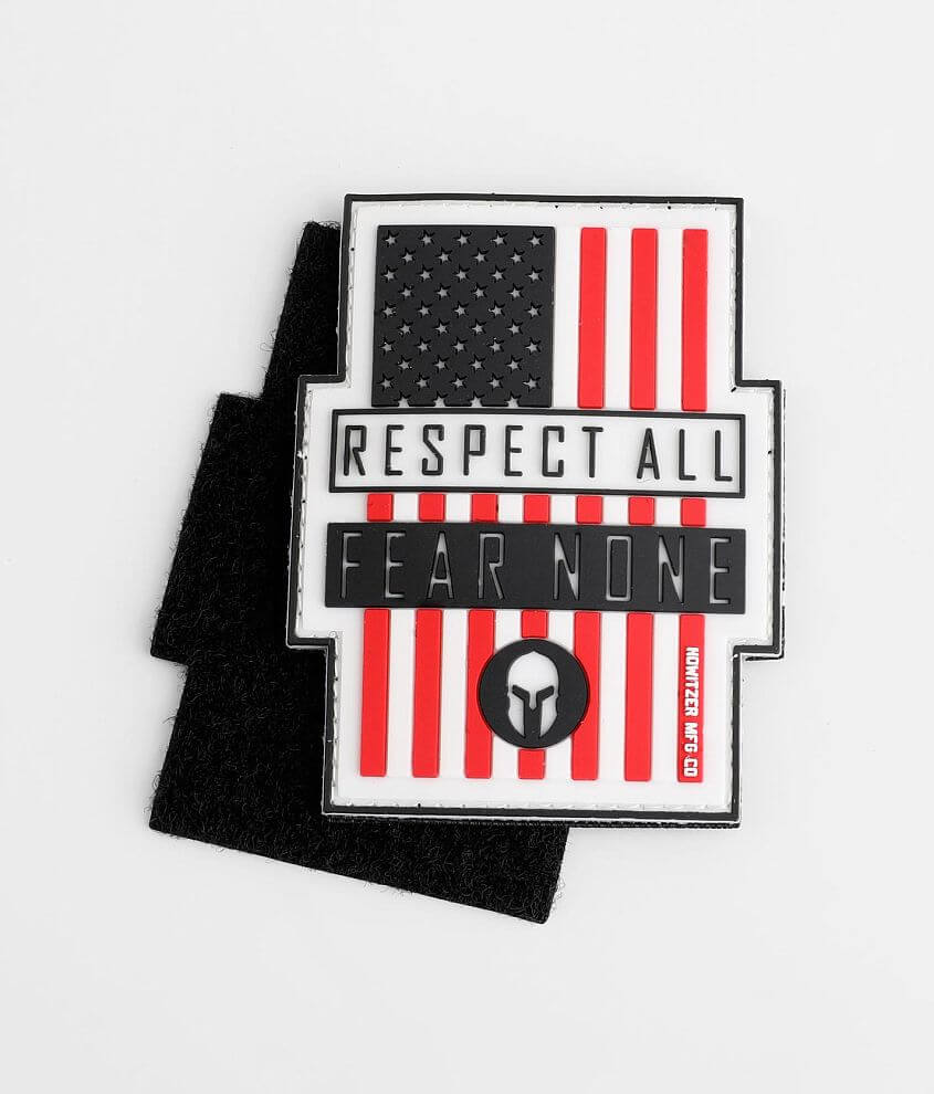 Howitzer Respect All Morale Patch front view