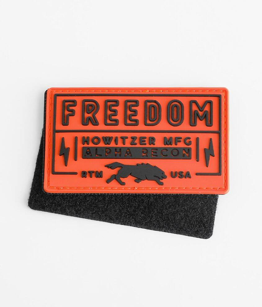 Howitzer Alpha Recon Morale Patch front view