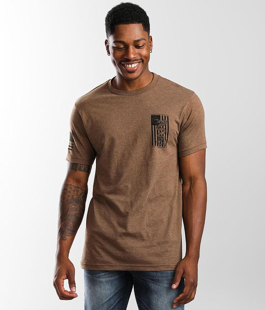 Howitzer Snake Flag T-Shirt front view