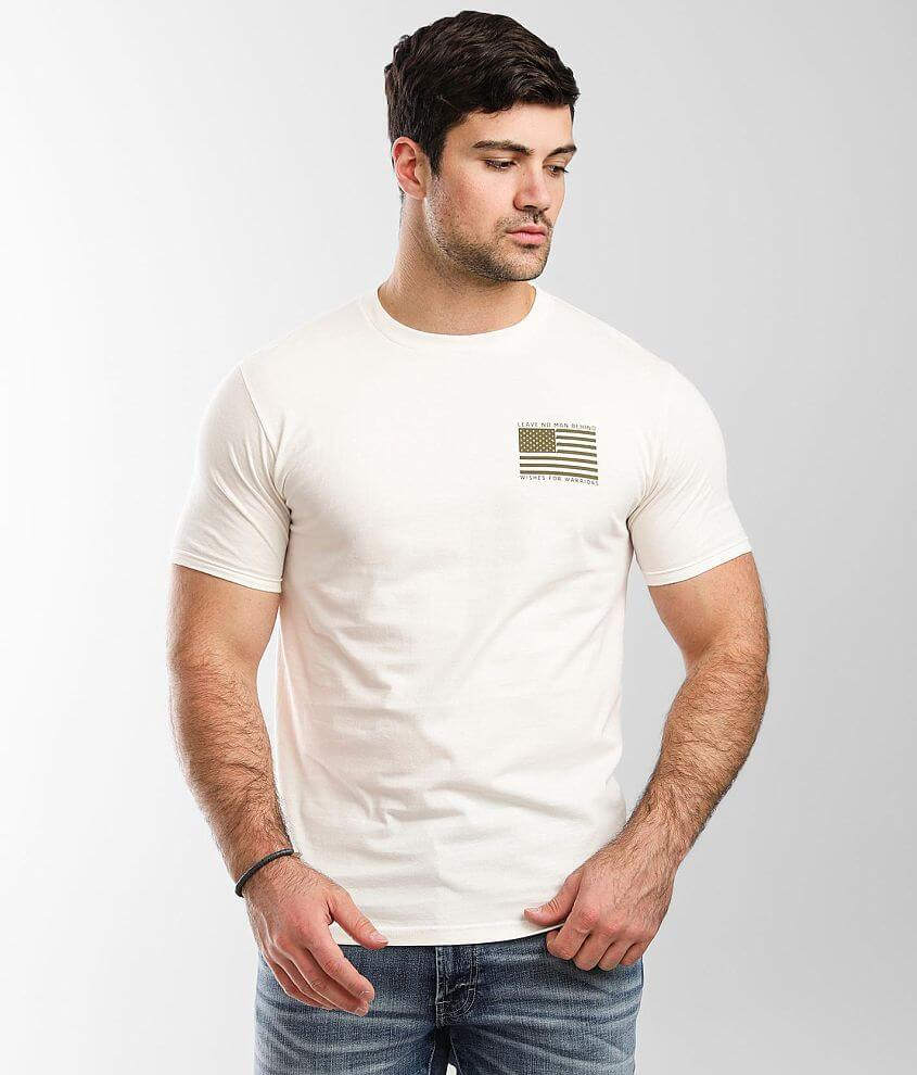 Howitzer Leave No Man T-Shirt front view