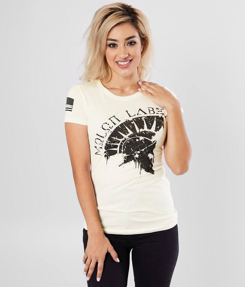 Distressed graphic t-shirt Sleeve hit Bust measures 30\\\
