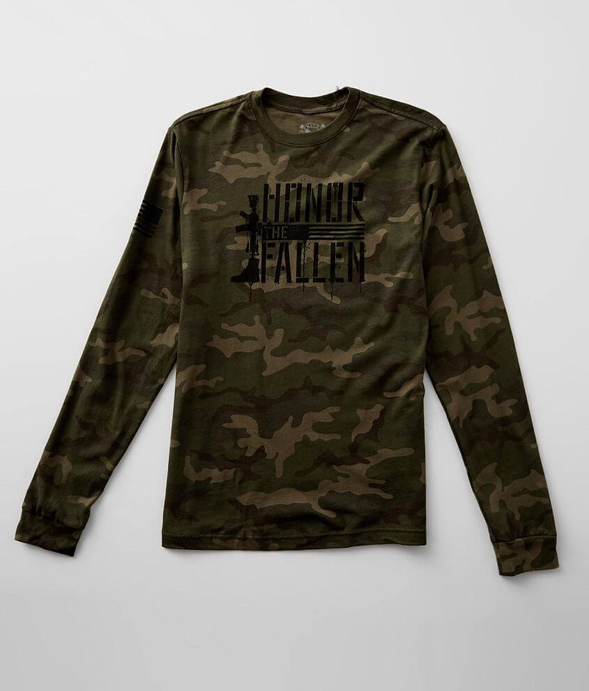 Howitzer Honor Camo T-Shirt front view