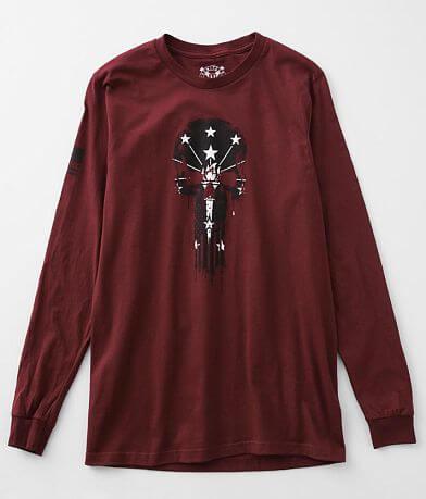 Howitzer Indiana Skull T-Shirt