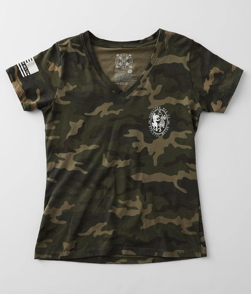 Howitzer Recon MFG. Camo T-Shirt front view