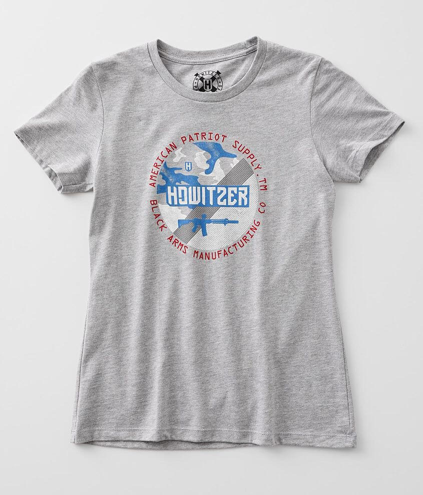 Howitzer Circle Support T-Shirt front view