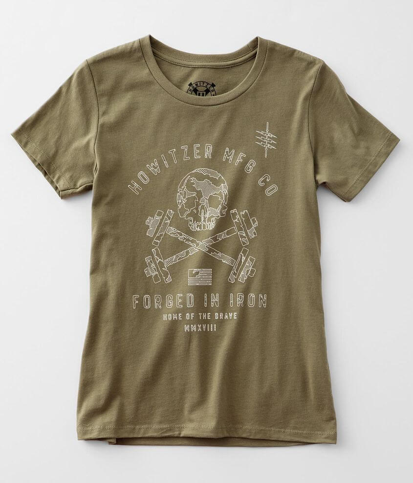 Howitzer Brave Iron T-Shirt front view