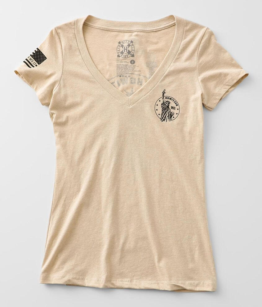 Howitzer Liberty Coin T-Shirt front view
