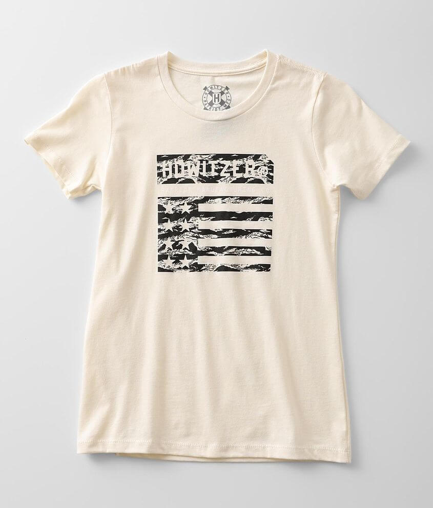 Howitzer Trademark Flag T-Shirt front view