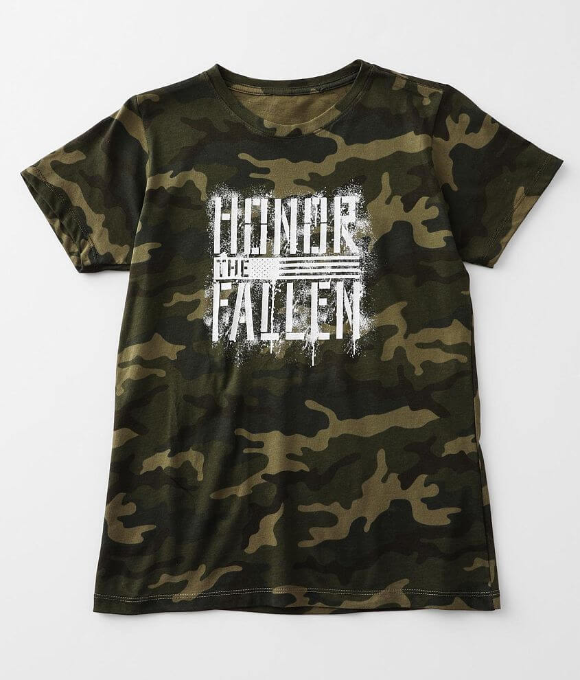 Howitzer Honor The Fallen T-Shirt front view