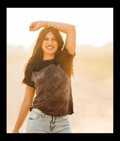 RUGGED GYPSY Calliope Washed T-Shirt
