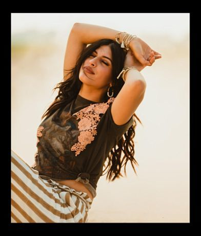 RUGGED GYPSY Wolfpack Washed T-Shirt