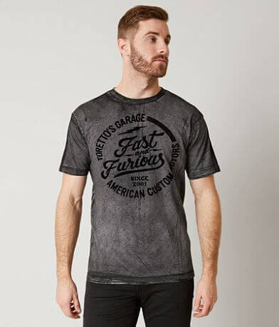 Affliction Fast & Furious Garage T-Shirt