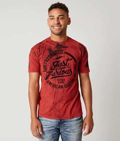 Fast & Furious Toretto's Garage T-Shirt