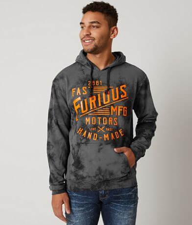 Fast & Furious Hand Made Hooded Sweatshirt