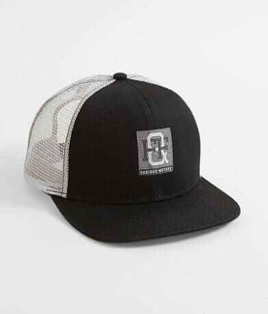 Affliction Fast & Furious Monogram Trucker Hat