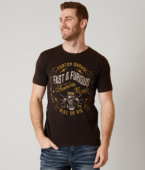 Furious T amp; Fast Shirt Wrench Monkey P65UUawW
