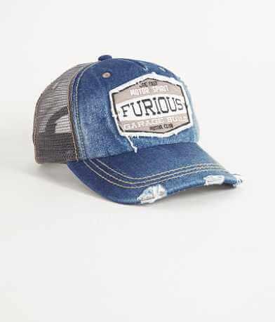 Fast & Furious Burnout Trucker Hat