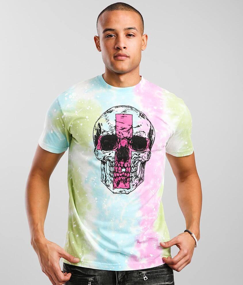 M.Lab Resolve Tie Dye T-Shirt front view