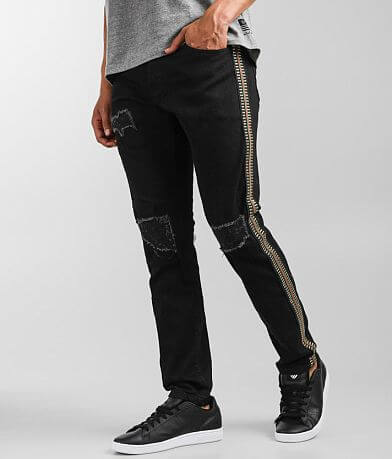 M.Lab Jet Black Slim Stretch Jean