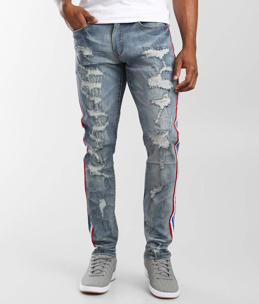 M.Lab Dice Slim Stretch Jean front view