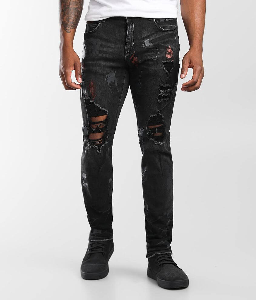 M.Lab Omission Slim Stretch Jean front view